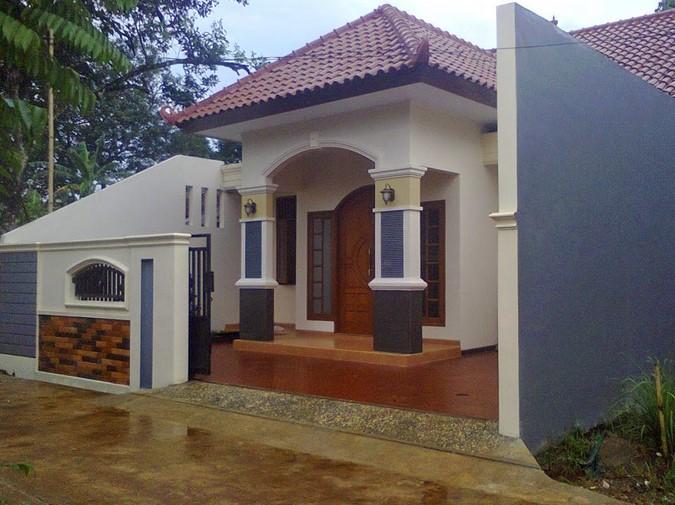 Model Teras Rumah Joglo Sederhana