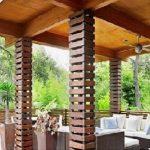 Model Teras Rumah Kayu Sederhana