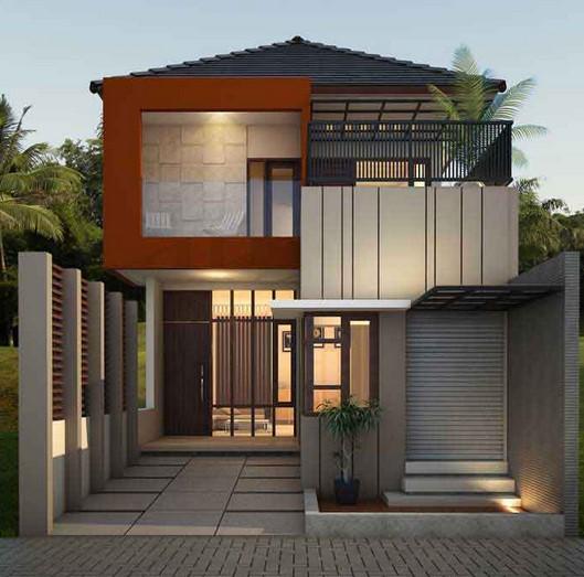 Model Teras Rumah Lantai 2 Minimalis