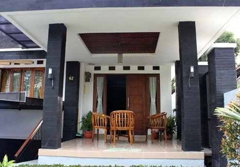 Model Teras Rumah Mewah 1 Lantai