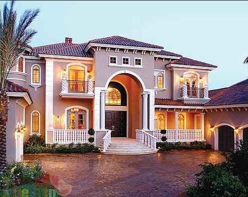 Model Teras Rumah Mewah Eropa