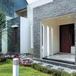Model Teras Rumah Mewah Minimalis Batu Alam