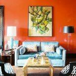 Paduan Warna Cat Ruang Tamu Minimalis