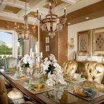Plafon Ruang Makan Mewah