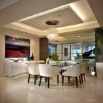 Plafon Ruang Makan Sederhana