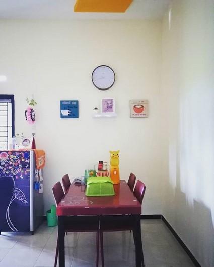 Ruang Makan Cantik Sederhana