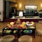 Ruang Makan Minimalis Lesehan