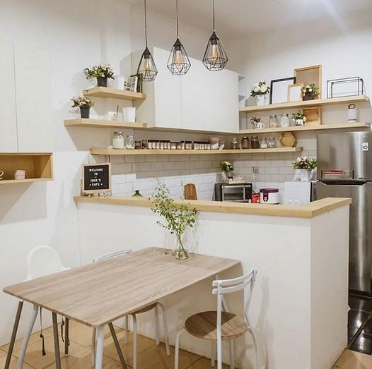60 Ide Desain Ruang Makan Minimalis Cantik Banget