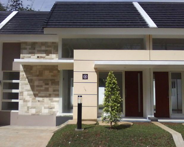 Teras Depan Rumah Minimalis Type 36