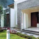Teras Rumah Cantik Dengan Batu Alam