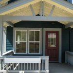 Teras Rumah Kayu Sederhana