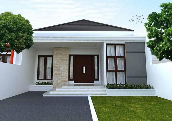 Teras Rumah Limas Sederhana
