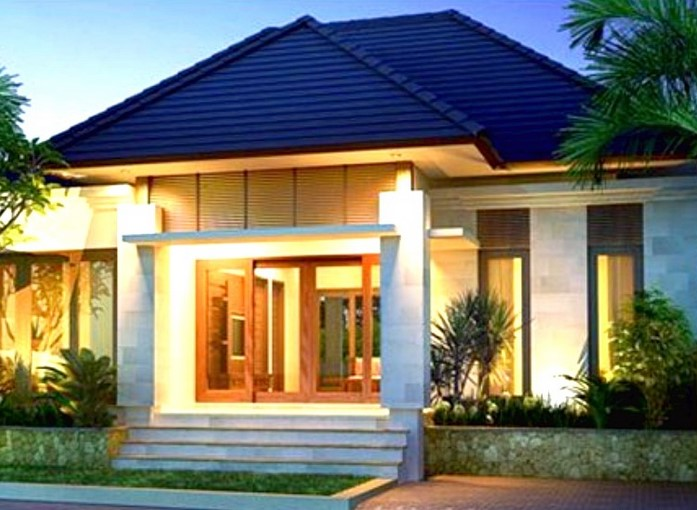 Teras Rumah Mewah 1 Lantai