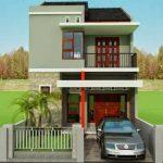 Teras Rumah Sederhana Dua Lantai
