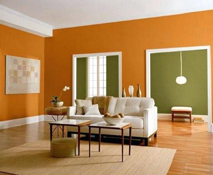 Variasi Warna Cat Ruang Tamu Yang Cantik