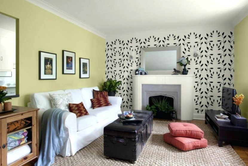 Warna Cat Dinding Ruang Tamu Yang Sejuk
