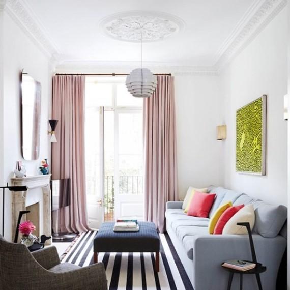 Warna Cat Dinding Untuk Ruang Tamu Sempit