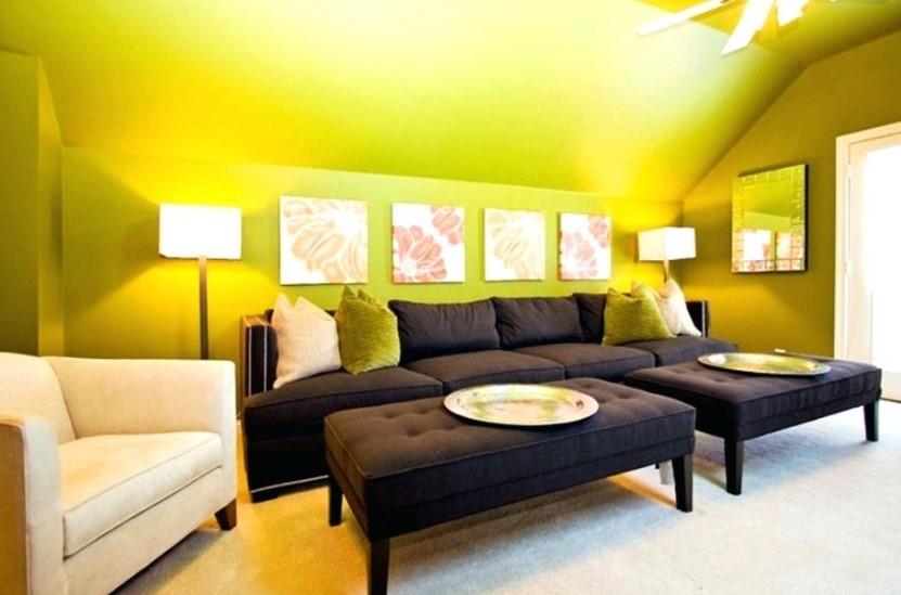 Warna Cat Interior Ruangan Tamu Yang Bagus
