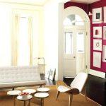 Warna Cat Ruang Tamu 2 Warna Minimalis Yang Bagus