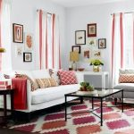 Warna Cat Ruang Tamu 2 Warna Modern