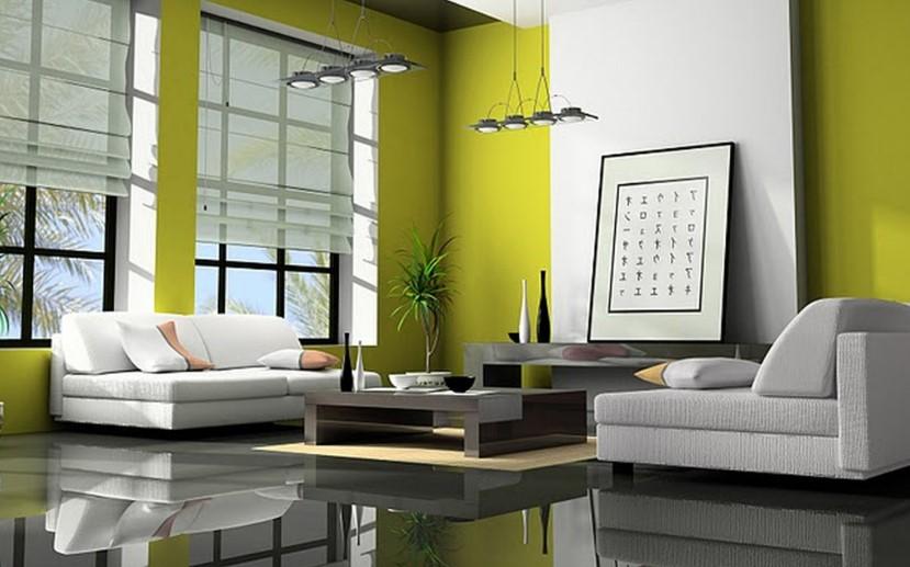 Warna Cat Ruang Tamu Besar Yang Cantik
