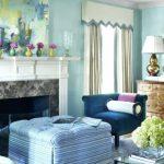 Warna Cat Ruang Tamu Biru Minimalis