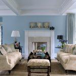 Warna Cat Ruang Tamu Biru Muda Yang Cantik