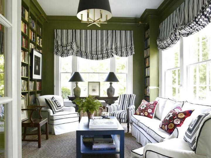 Warna Cat Ruang Tamu Klasik Yang Cantik