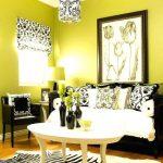 Warna Cat Ruang Tamu Kuning Yang Sejuk