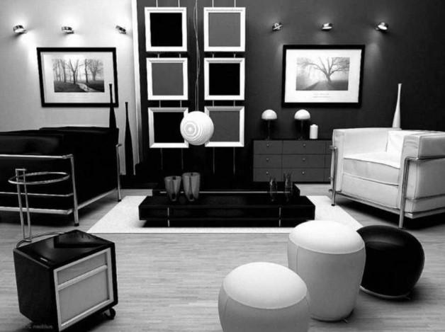 6800 Koleksi Gambar Rumah Minimalis Hitam Putih HD