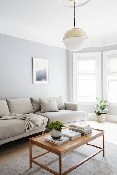 Warna Cat Ruang Tamu Minimalis Sederhana