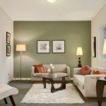 Warna Cat Ruang Tamu Modern 2 Warna