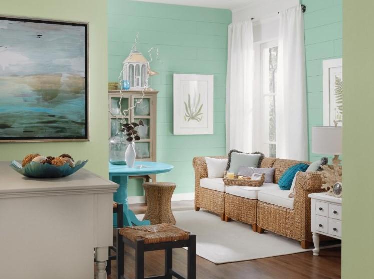 Warna Cat Ruang Tamu Pastel Yang Cantik