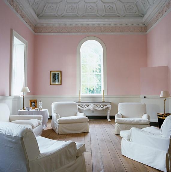 Warna Cat Ruang Tamu Pink Yang Bagus