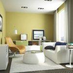 Warna Cat Ruang Tamu Sempit Kuning