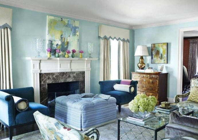 Warna Cat Ruang Tamu Sempit Yang Bagus