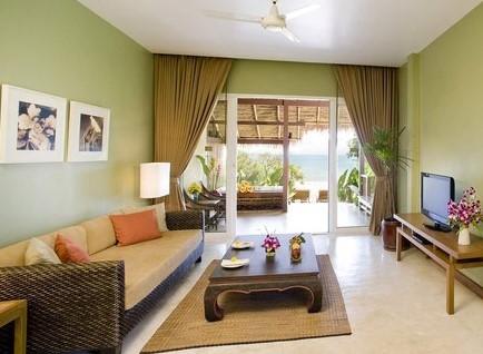Warna Cat Ruang Tamu Simple Yang Cantik