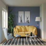 Warna Cat Ruang Tamu Warna Biru Yang Bagus