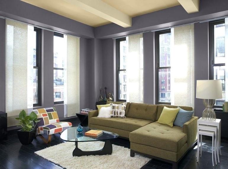 Warna Cat Ruang Tamu Warna Ungu Yang Bagus