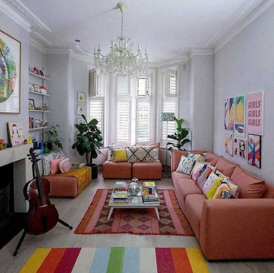 Warna Cat Rumah Ruang Tamu Sempit
