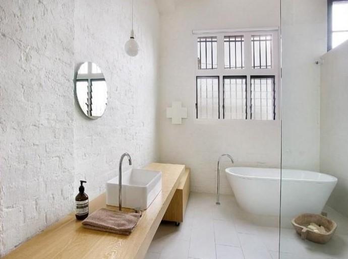 Contoh Kamar Mandi Dengan Bathtub