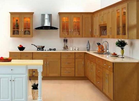 Dapur Kayu Minimalis Sederhana