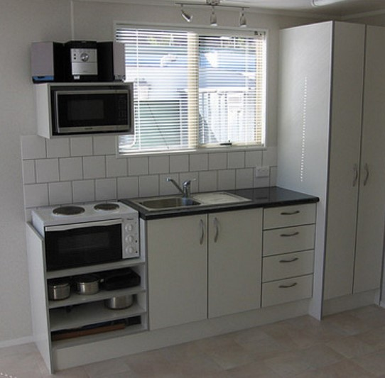 Dapur Minimalis Sederhana Tanpa Kitchen Set