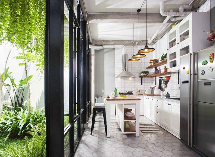 Dapur Terbuka Rumah Type 45