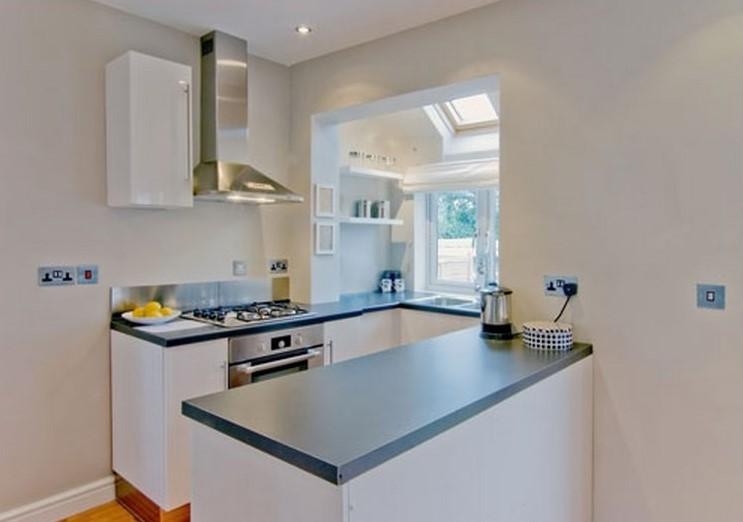 Desain Dapur Bersih Mungil