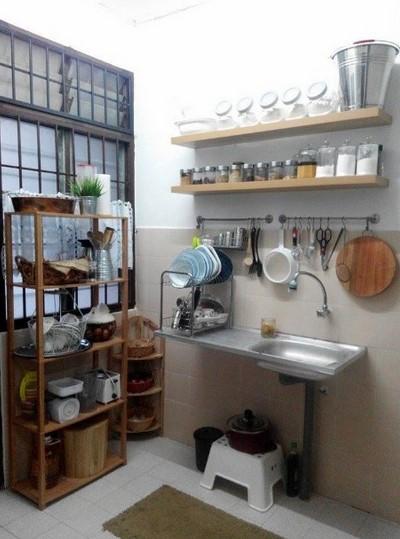 Desain Dapur Kecil Dan Unik