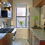 Desain Dapur Kecil Memanjang