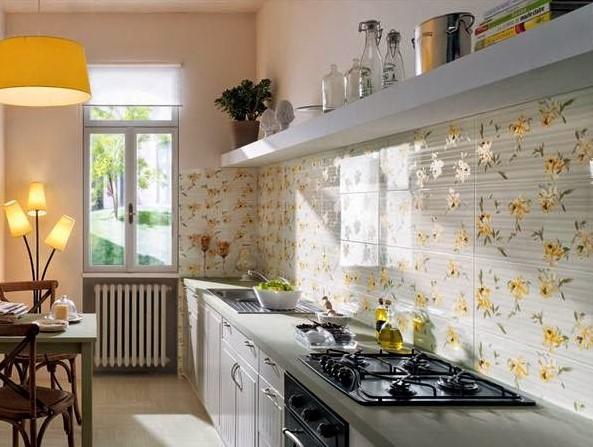 Desain Dapur Kecil Panjang