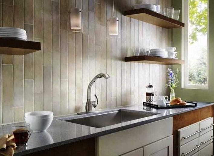 Desain Dapur Kecil Tanpa Kitchen Set
