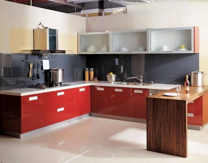 Desain Dapur Minimalis Bentuk L Sederhana